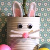 Easter Bunny Planter