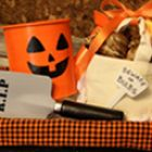 Haloween Bulb Basket