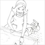 Coloring Project - Marcy